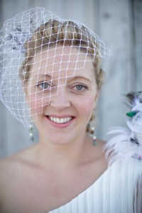 Bride at Waiangi, Bay of Islands,NZ,Hair, Laurel Stratford