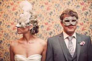 Beautiful hair up,Masked bride & Groom,russell wedding,NZ,hair Laurel Stratford